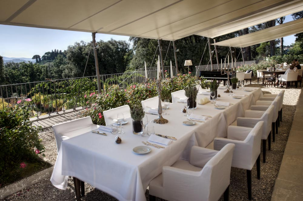 Laterrazza Dining at Hotel ll Salviatino Florence, Italy