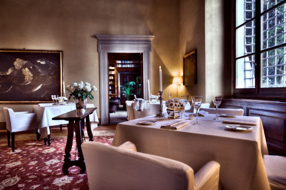 Lounge at Hotel ll Salviatino FlorenceItaly