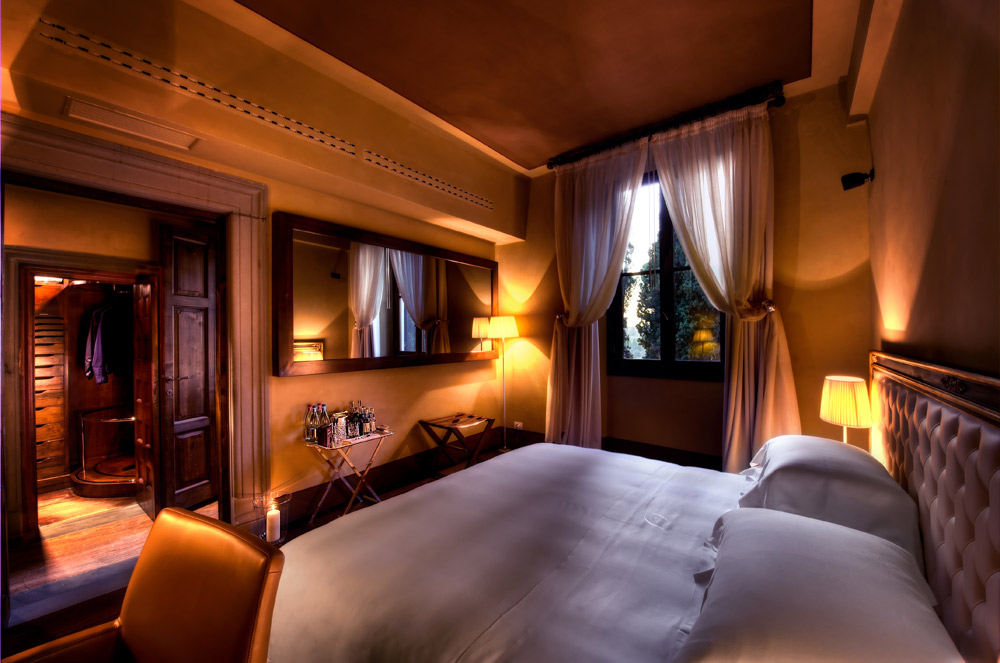 De Luxe Room at Hotel ll Salviatino Florence, Italy