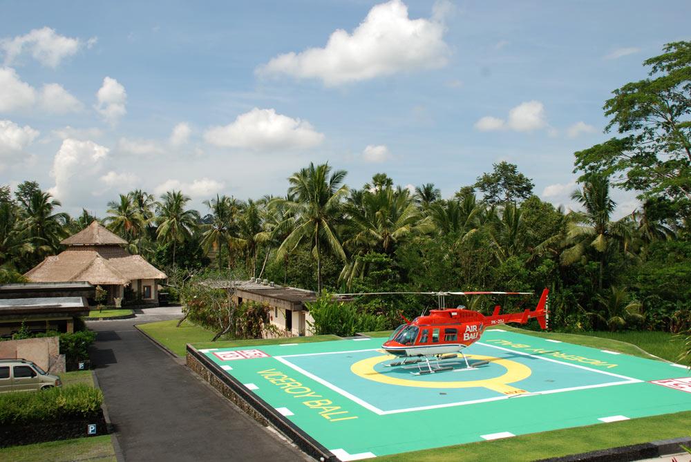 Viceroy Bali Helipad