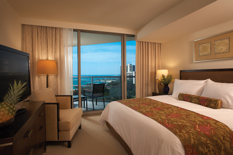 Trump International Hotel and Tower Waikiki Beach Walk Guest Room
