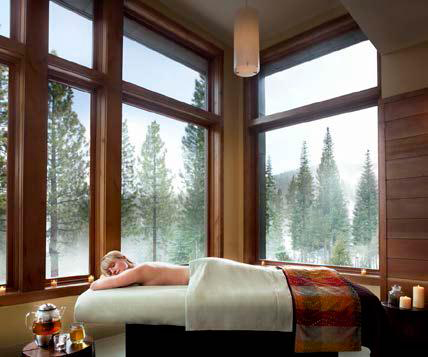 Ritz Carlton Lake Tahoe Spa