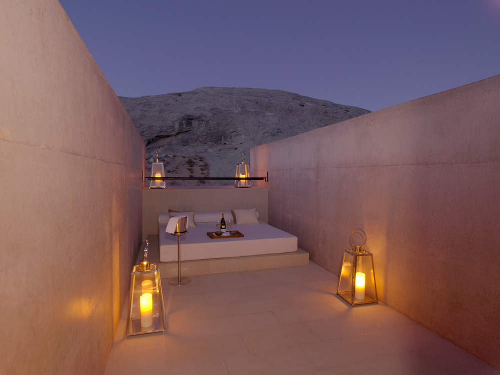 Pool Suite Sky Lounge at Amangiri in Canyon Point, Southern Utah courtesy of Amanresorts