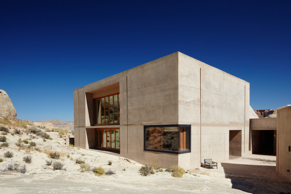 Fitness and Yoga Studio at Amangiri in Canyon Point, Southern Utah courtesy of Amanresorts