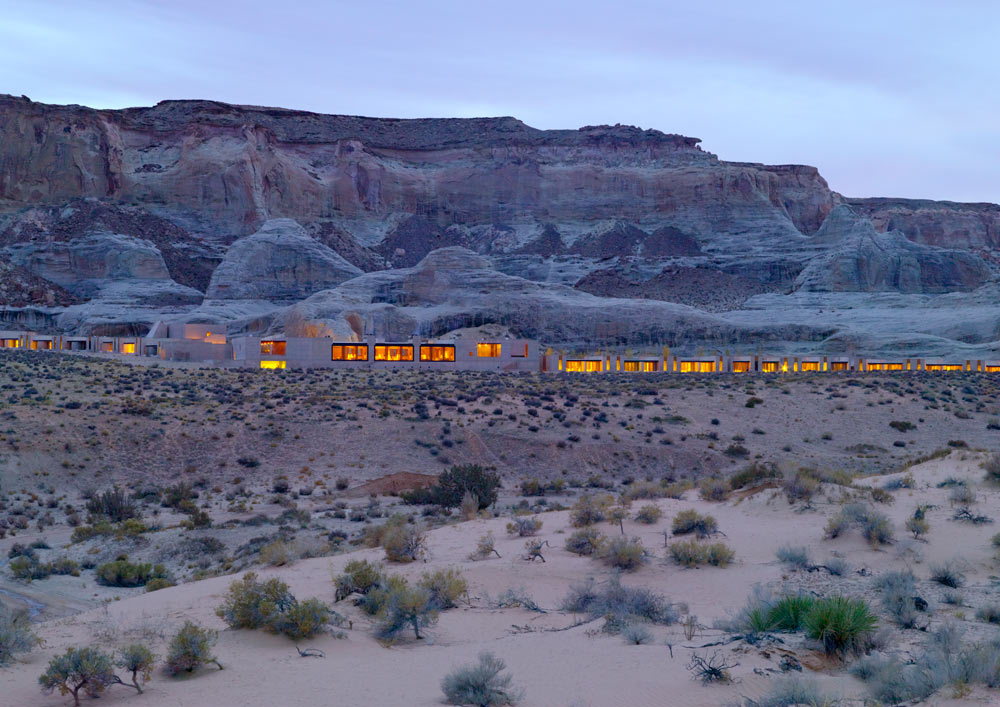 Amangiri in Canyon Point, Southern Utah courtesy of Amanresorts