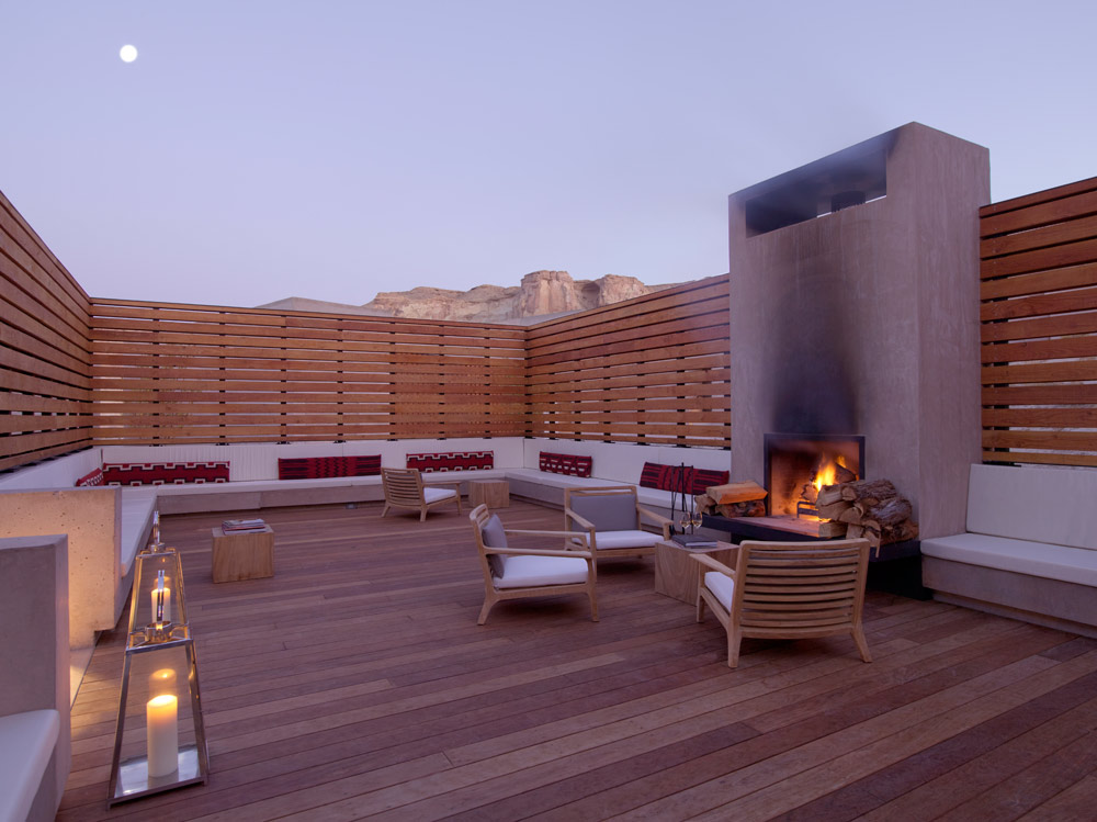 Story Telling Lounge at Amangiri in Canyon Point, Southern Utah courtesy of Amanresorts