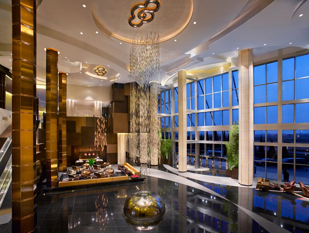 Lobby at Grand Hyatt Macau