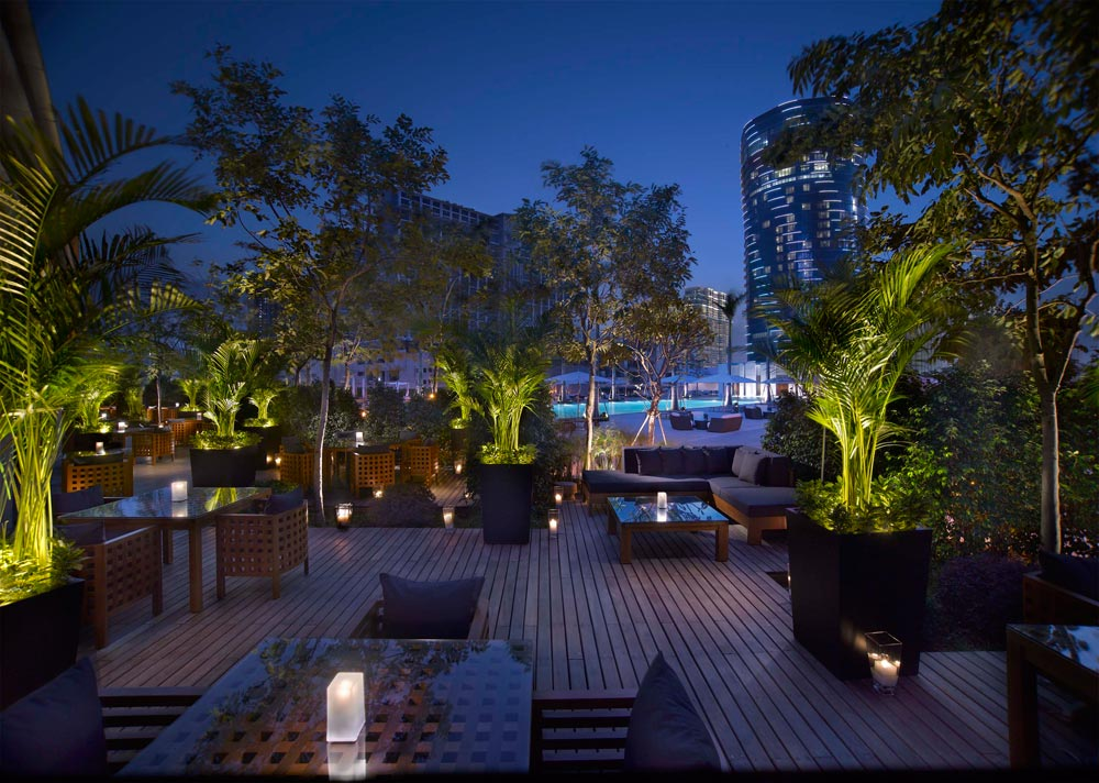 Outdoor Terrace at Grand Hyatt Macau