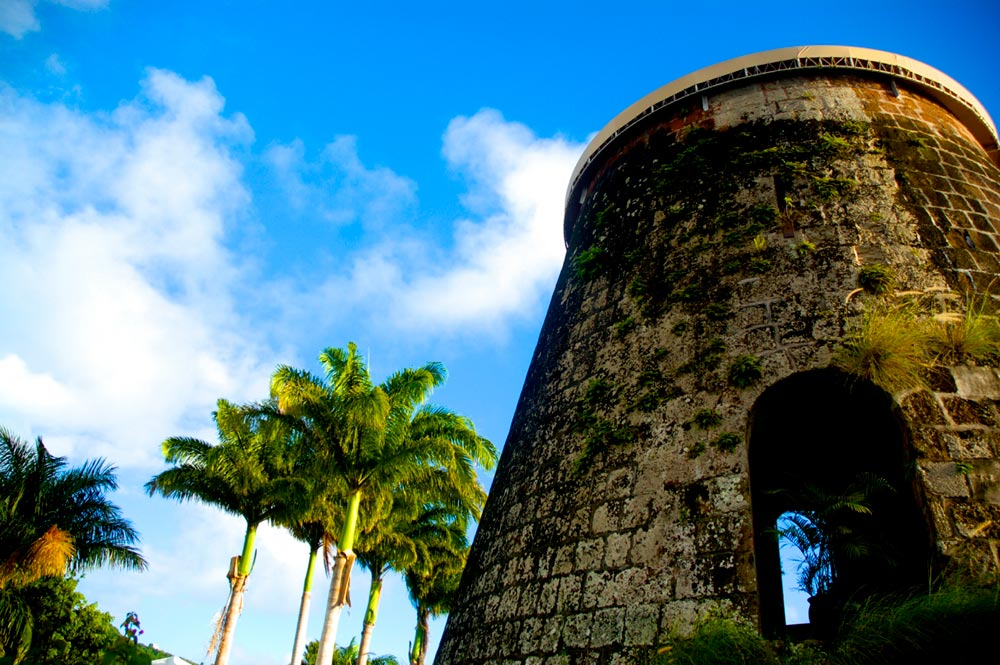 Sugar Mill at Montpelier Plantation Inn West Indies, St. Kitts and Nevis