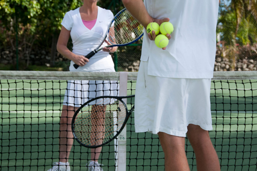 Tennis Activity at Montpelier Plantation Inn West IndiesSt. Kitts and Nevis