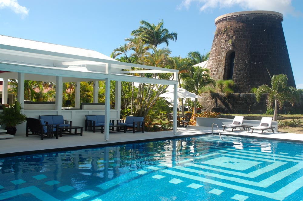 Pool at Montpelier Plantation Inn West IndiesSt. Kitts and Nevis