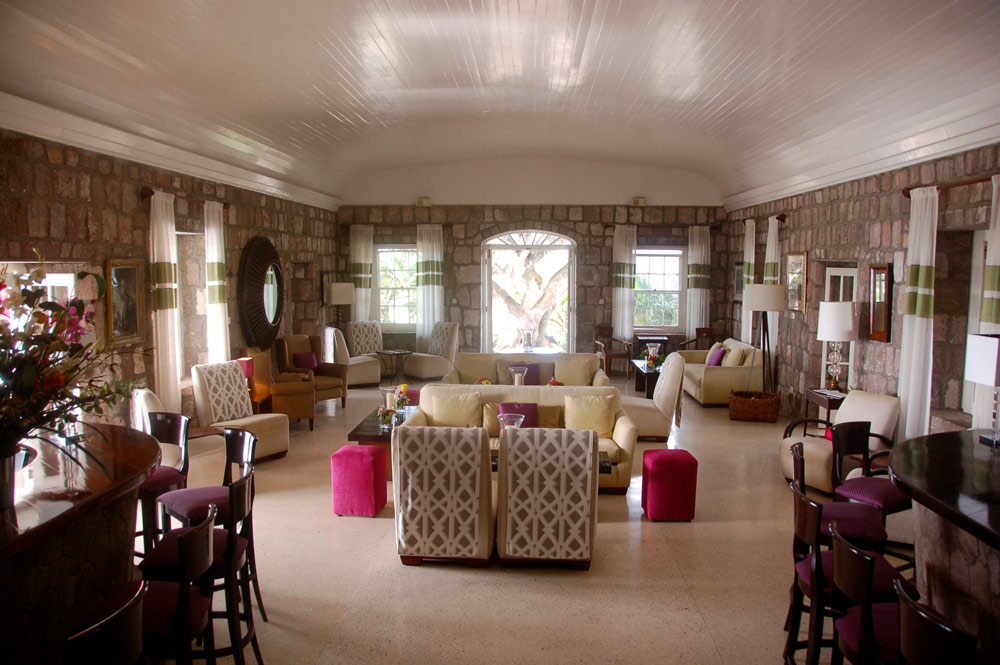 Great Room at Montpelier Plantation Inn West IndiesSt. Kitts and Nevis