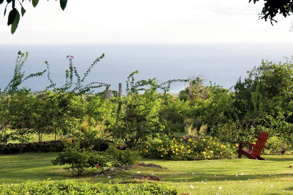 Resort Grounds at Montpelier Plantation Inn West IndiesSt. Kitts and Nevis