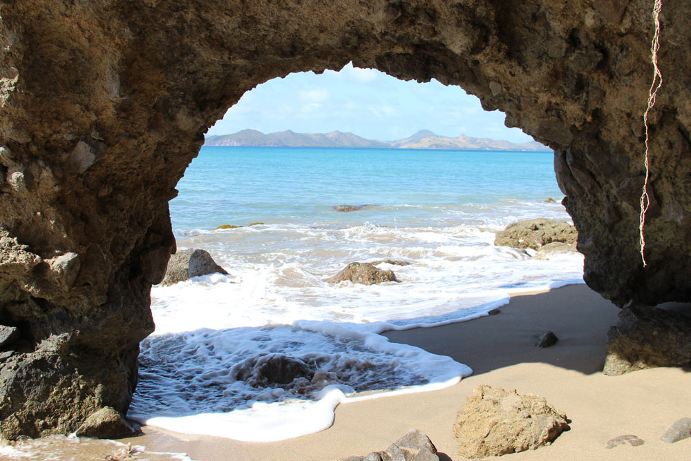 Beach at Montpelier Plantation Inn West IndiesSt. Kitts and Nevis