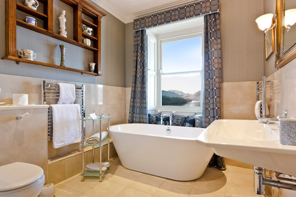 Silver Room Bath at Sharrow Bay United Kingdom