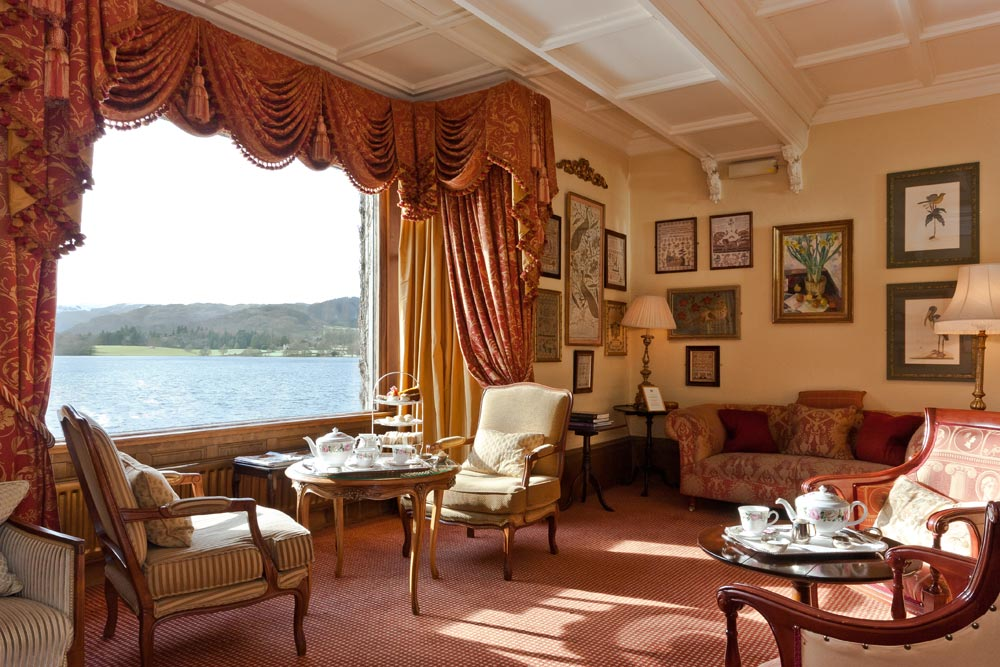 Drawing Bay Window Lake View at Sharrow Bay United Kingdom