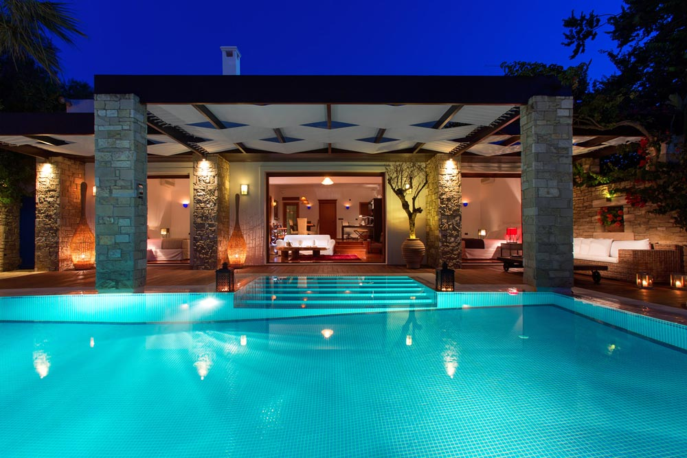 Pool at Porto Zante Villas and Spa ZakynthosGreece