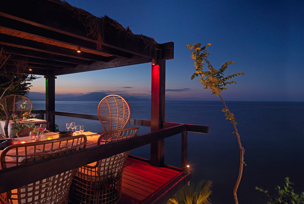 Terrace Dining by Sea at Porto Zante Villas and Spa ZakynthosGreece