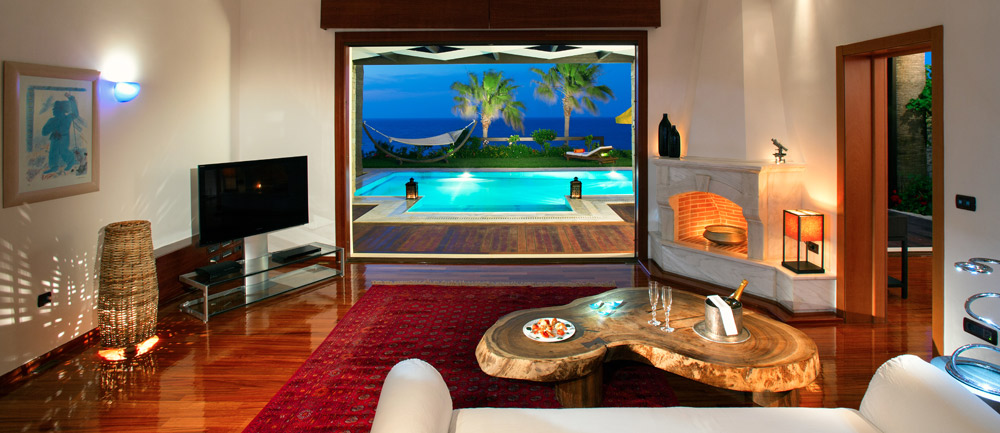 Interior Pool Suite at Porto Zante Villas and Spa ZakynthosGreece