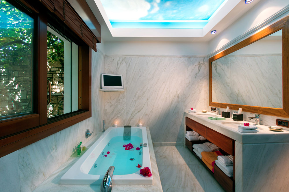 Bath at Porto Zante Villas and Spa ZakynthosGreece