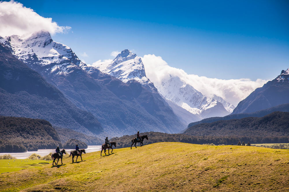 Explore on Horseback at Azur Lodge, Queenstown