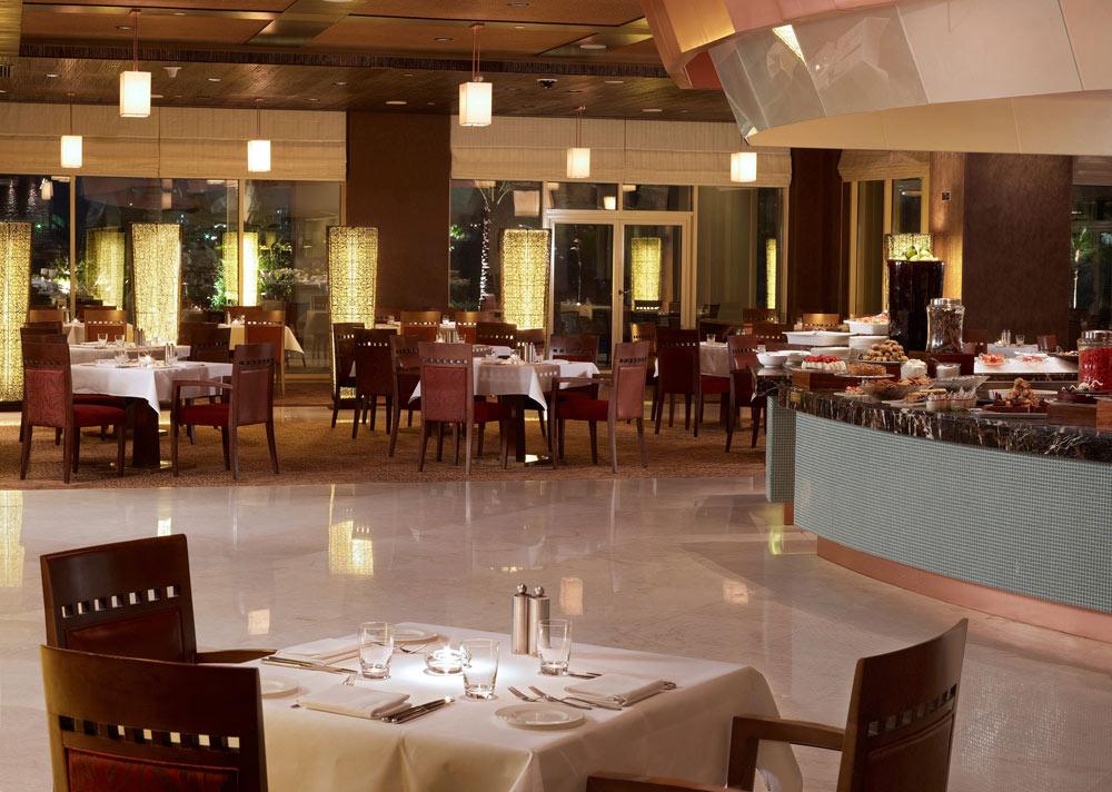 Dining at Grand Hyatt Doha, Qatar
