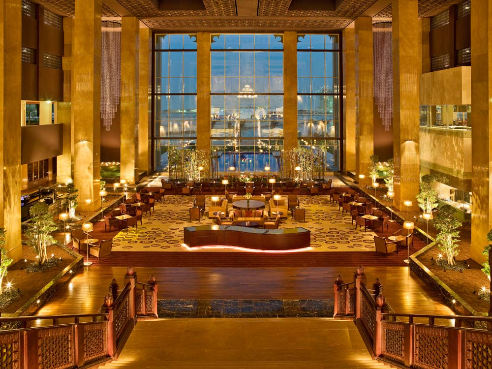 Lobby of Grand Hyatt DohaQatar