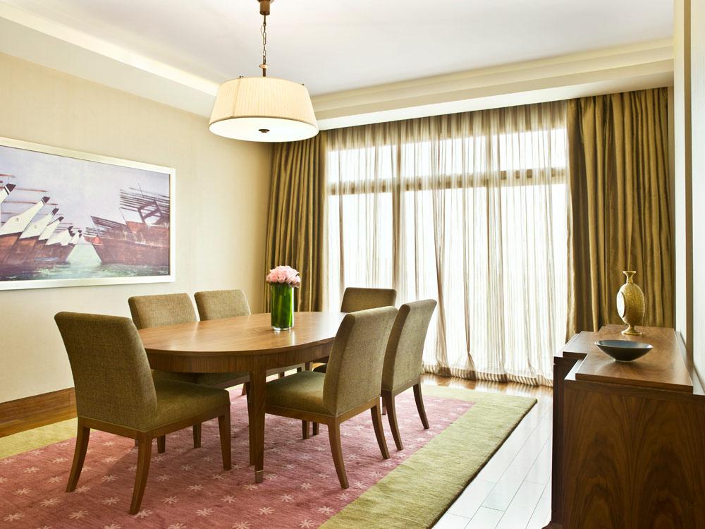 Dining Room at Grand Hyatt Doha, Qatar