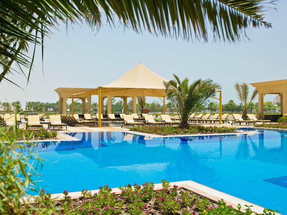 Pool at Grand Hyatt Doha, Qatar