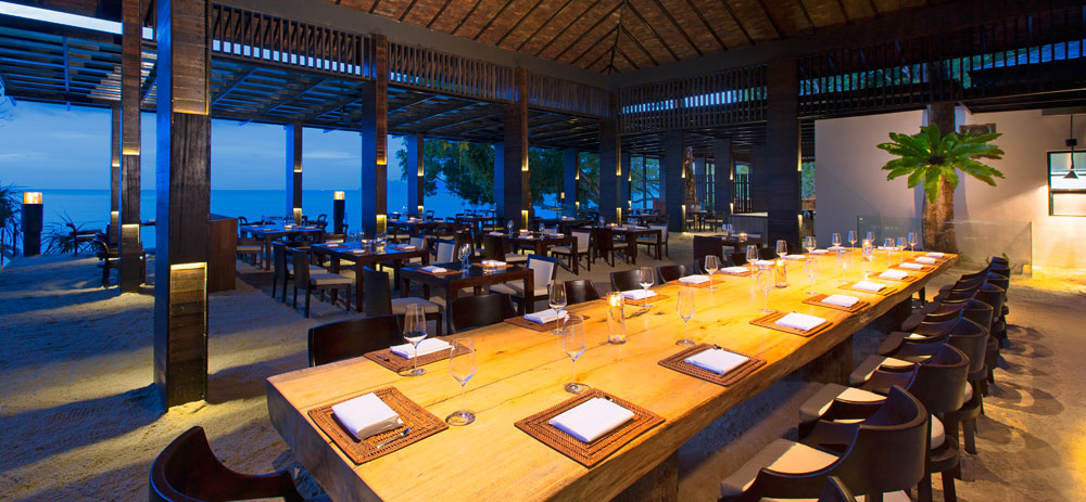 Dining at The Andaman LangkawiMalaysia
