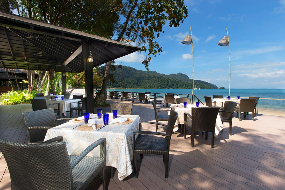 Dining at The Andaman LangkawiMalaysia