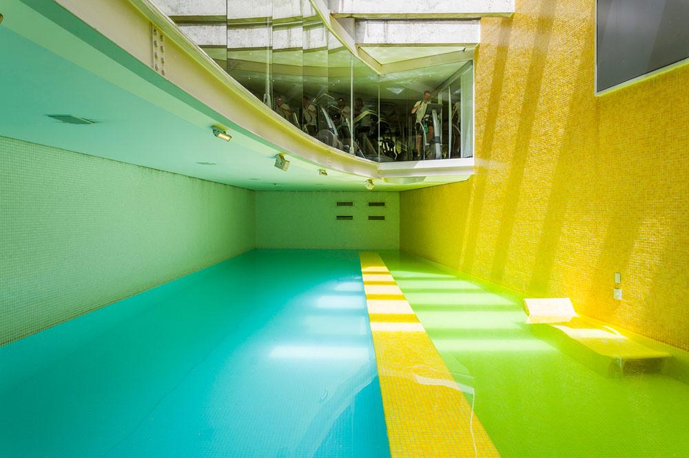Fitness Pool at Hotel Unique Sao Paulo, Brazil