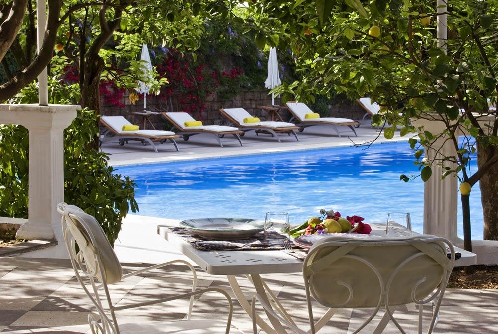 Pool at Grand Hotel Cocumella in SantAgnello di SorrentoItaly