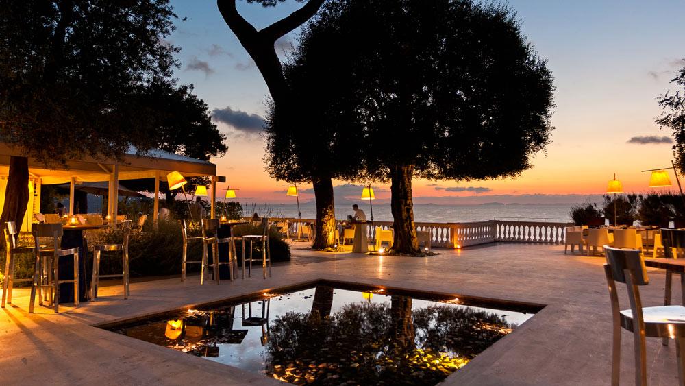 COKU restaurant at Grand Hotel Cocumella in SantAgnello di SorrentoItaly