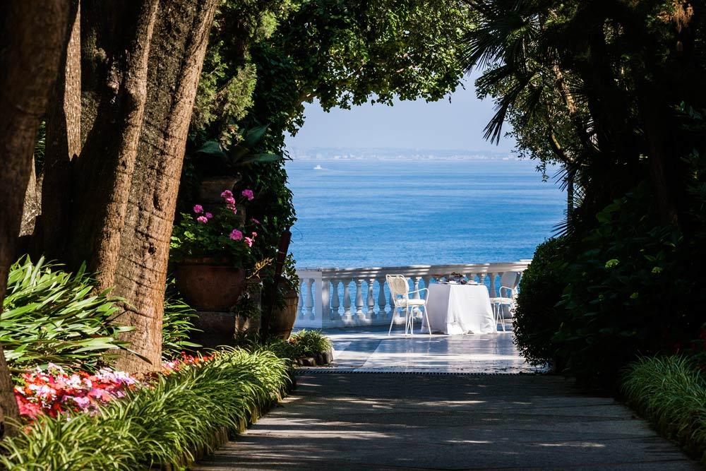Terrace Dining at Grand Hotel Cocumella in SantAgnello di SorrentoItaly