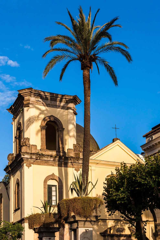 Exterior view of Grand Hotel Cocumella in SantAgnello di SorrentoItaly