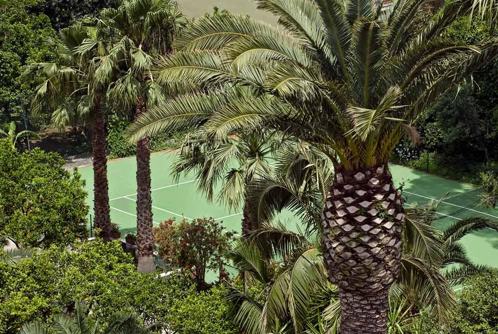 Tennis Court at Grand Hotel Cocumella in SantAgnello di SorrentoItaly