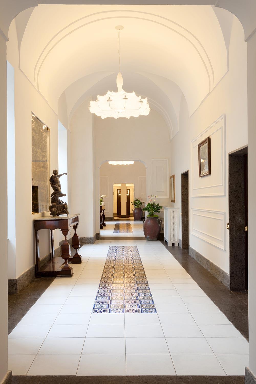Lobby at Grand Hotel Cocumella in SantAgnello di SorrentoItaly