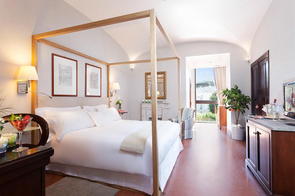 Deluxe Room at Grand Hotel Cocumella in SantAgnello di SorrentoItaly