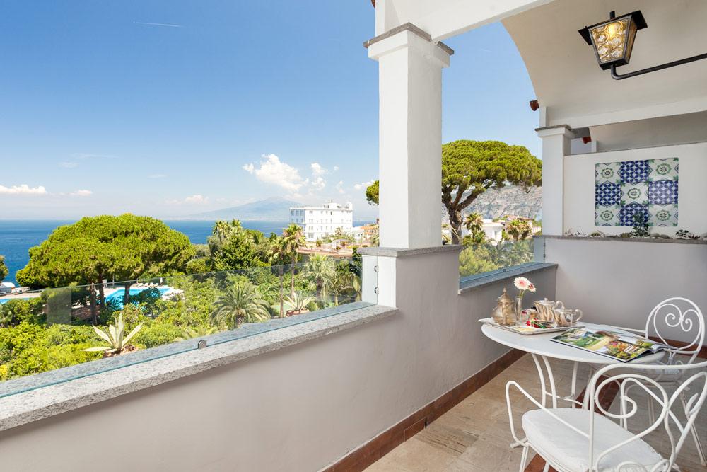 Junior Suite Terrace at Grand Hotel Cocumella in SantAgnello di SorrentoItaly