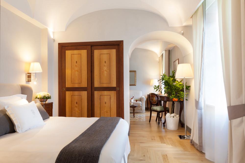 Junior Suite Garden View at Grand Hotel Cocumella in SantAgnello di SorrentoItaly