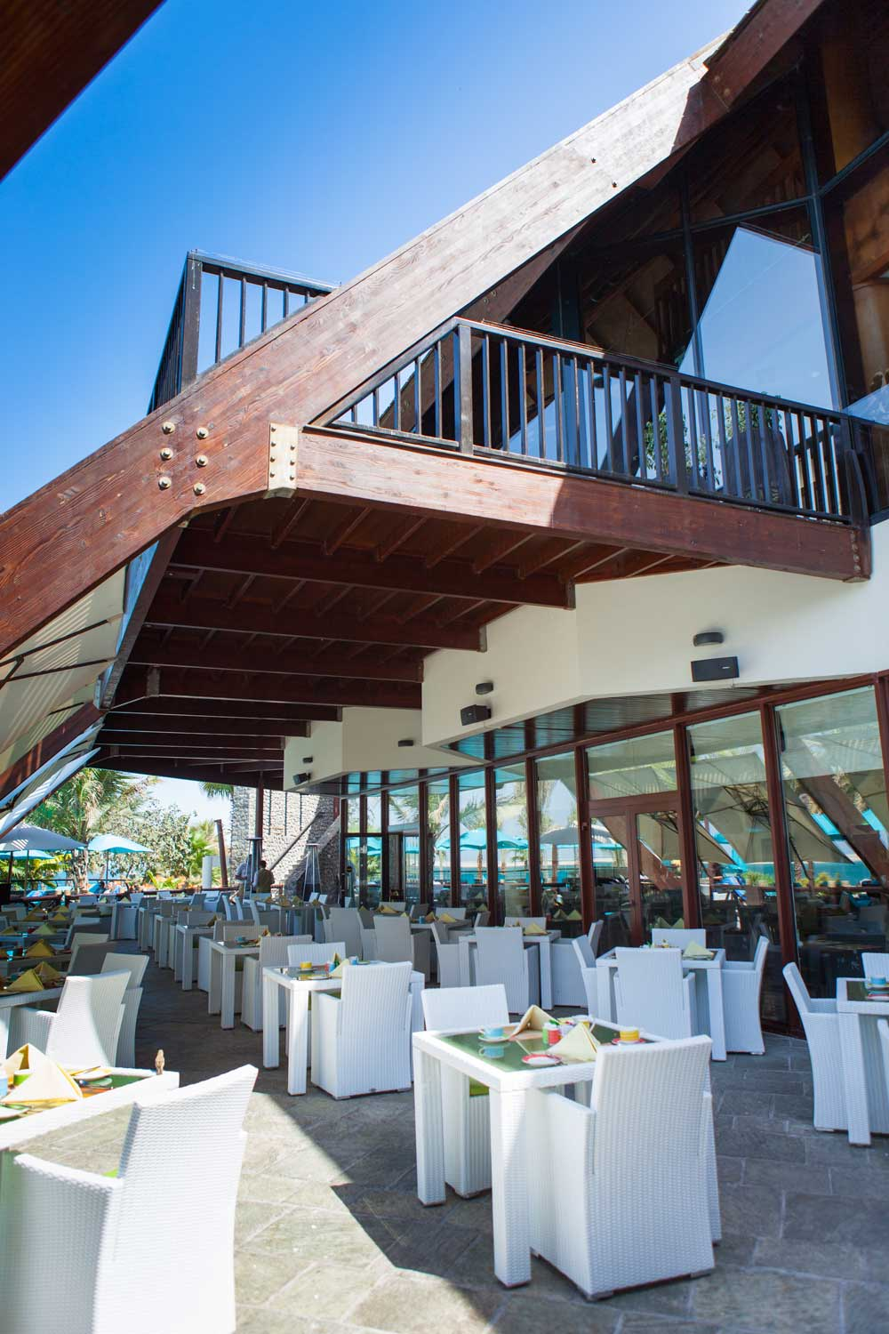 La Fontana Dining Venue at Palm Tree Court and SpaDubai