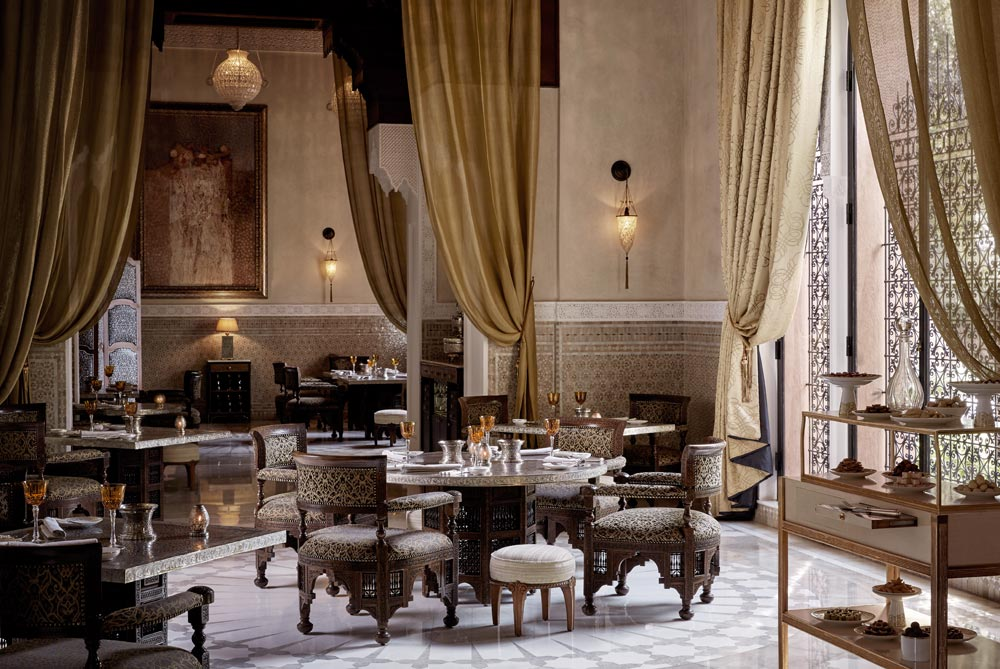 La Grande Table Marocaine at Royal Mansour MarrakechMorocco