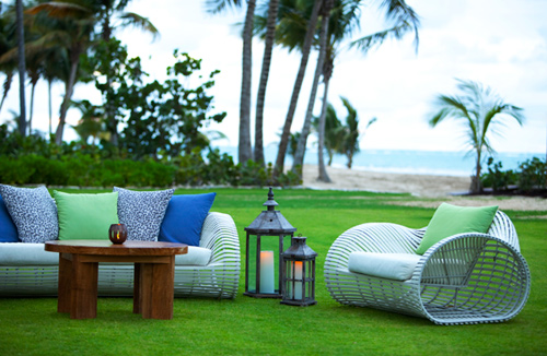 Enjoying the sea breeze at The St. Regis Bahia Beach Resort