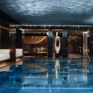 Pool at Corinthia Hotel London