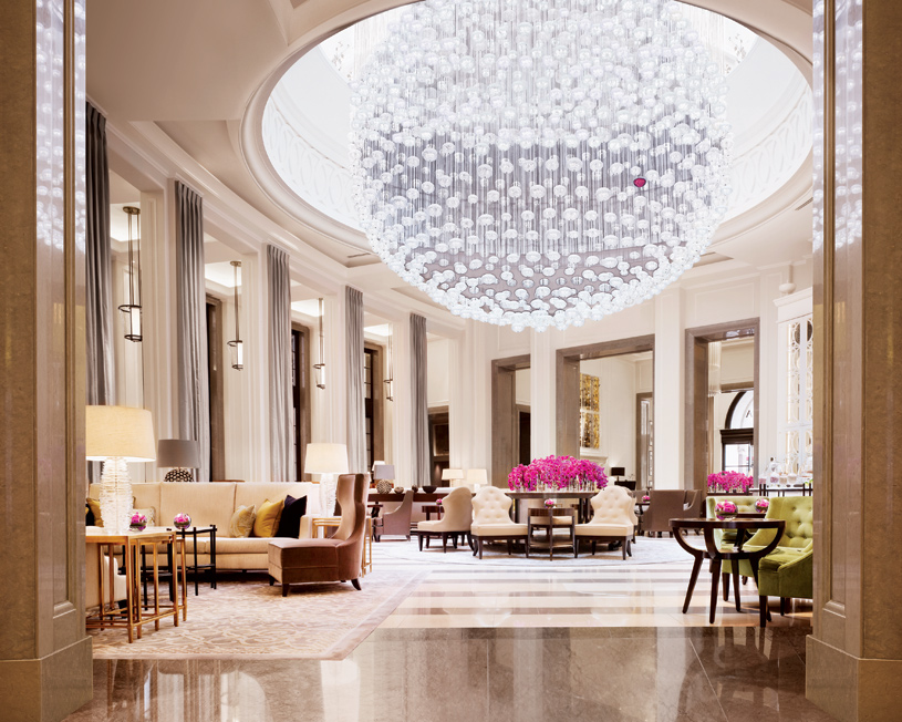 Lobby Lounge at Corinthia Hotel London