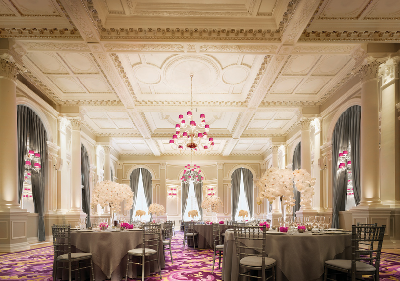 Ballroom at Corinthia Hotel London