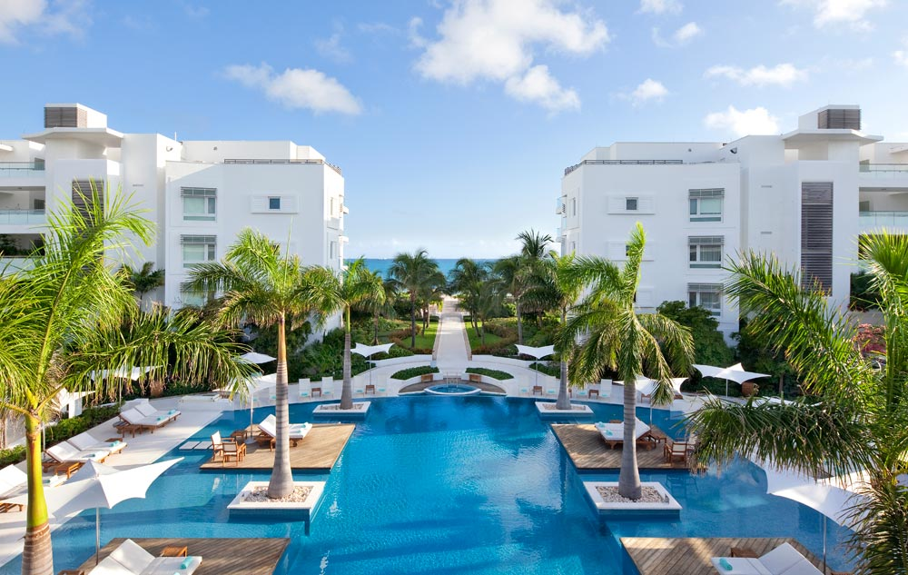 Infinite Edged 7000 Square Foot Pool at Gansevoort Turks and CaicosProvidencialesTurks & Caicos Islands
