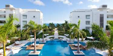 Infinity Edged 7000 Square Foot Pool at Wymara Resort and Villas, Turks and Caicos