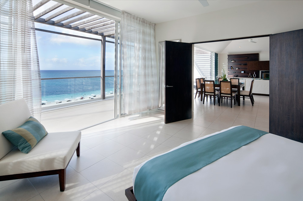 Penthouse Master Bedroom at Gansevoort Turks and Caicos, Providenciales, Turks & Caicos Islands